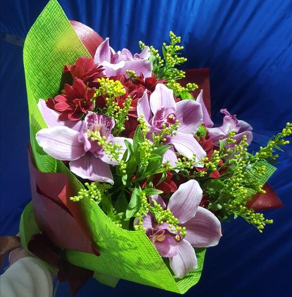 Орхидеи с признанием в любви фото