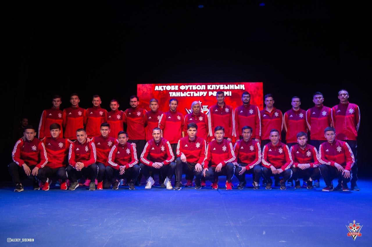 «Актобе» провел презентацию основной команды