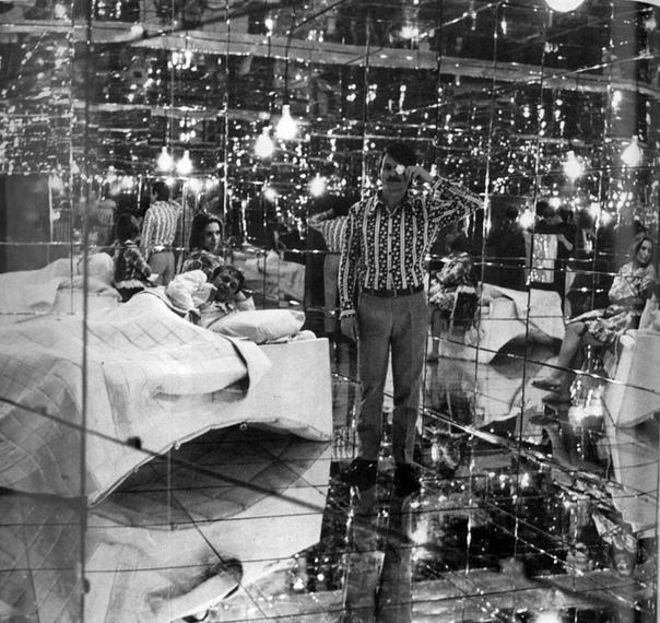 Андрей Тарковский и съемочная группа на площадке легендарного «Соляриса», 1971 год