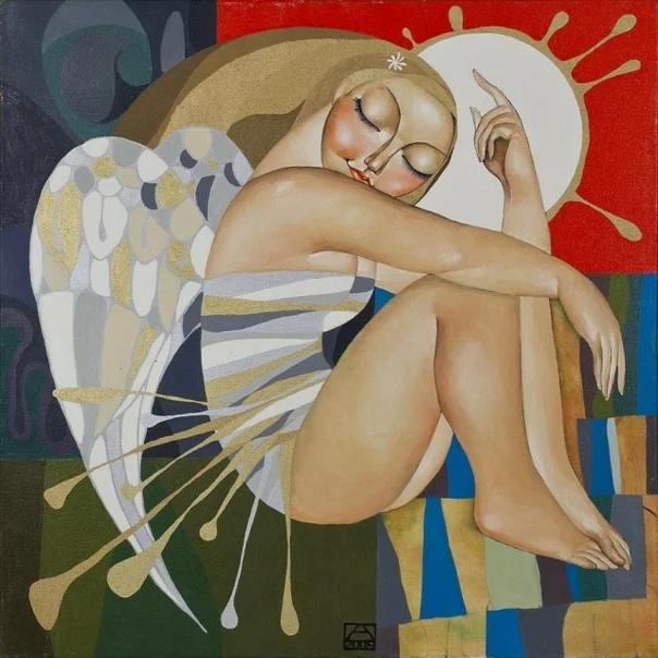 Талантливая художница из Казахстана Акжана Абдалиева (Azhana Abdalieva