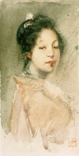 Роберт Фредерик Блюм родился художник в 1876 году в Цинциннати, штат Огайо. Закончив школу, он некоторое время работал в книжном магазине и учился в художественной школе дизайна McMicen в