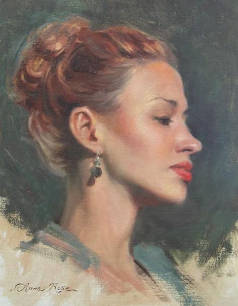 Живопись Анна Бейн, которая пишет в стиле современного ампира. Нужно отметить, что сам стиль ампир является направлением художественной мысли конца XIX века. Для него свойственен не только