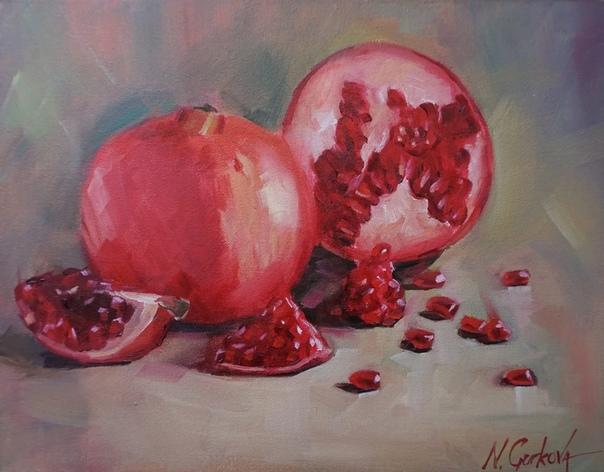 Надя Гуркова (Nadia Gurova родилась в 1982 году в Сибири, в настоящее время живет и работает в Торонто (Канада). Её всегда тянуло к искусству, но её родители считали, что художник - это