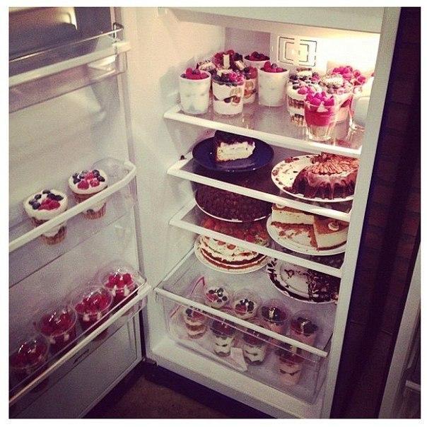 холодильник с конфетами картинки его красиво
