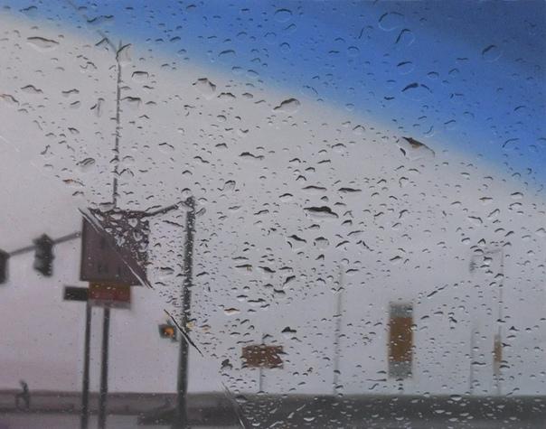 Грегори Тилкер.. Когда сморишь на картины этого американского художника, кажется, что если провести по ним рукой, на пальцах останется дождевая вода. Пейзажи Грегори Тилкера, написанные в жанре