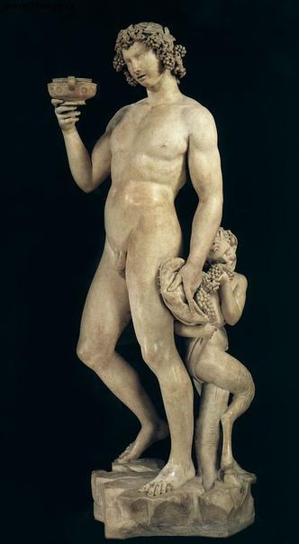 «Бахус», Микеланджело