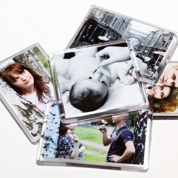 акриловые фотомагниты винтажные трэйд