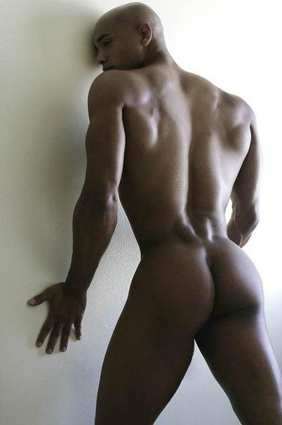 Black guy ass nude