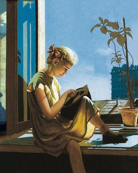 Александр Лактионов (1910-1972 - выдающийся советский художник. Родился в городе Ростове-на-Дону в рабочей семье - отец был кузнецом на заводе. Когда подрос, по рекомендации отца пошел учиться