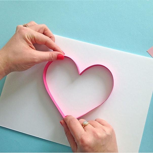 Поделки ко Дню Матери. 29 ноября - День материПредлагаем вам сделать для мамы вот такую сердечную открытку. Поделка выполнена в технике