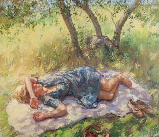 Художник Бен Фенске (Ben Fense родился в 1978 году в Миннесоте. Последние годы художник живёт и работает в Саг-Харборе, штат Нью-Йорк, и во Флоренции (Италия). en Fense пишет свои картины маслом