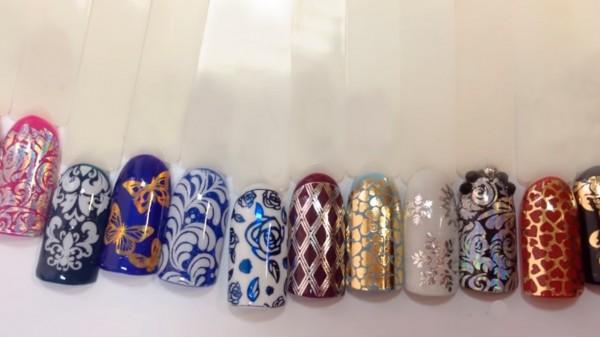 Стильные слайдеры на ногти в СПб