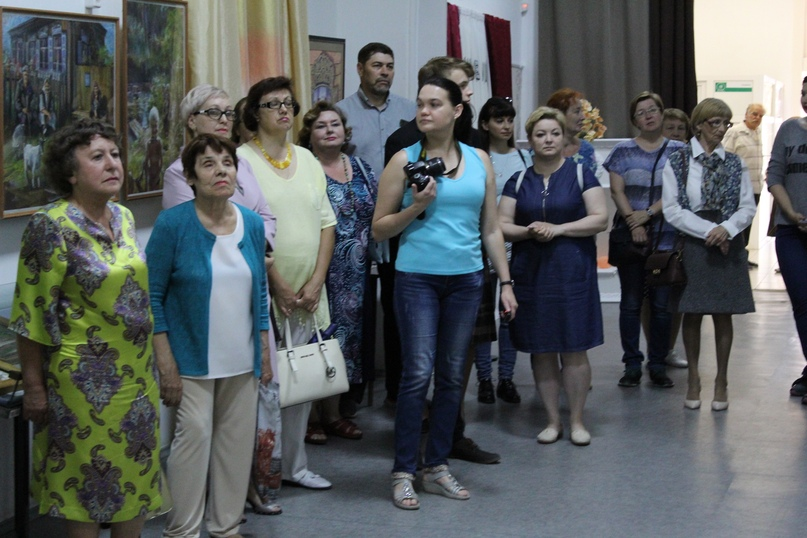 Выставка «Шадринский вернисаж 9», 2019 г.