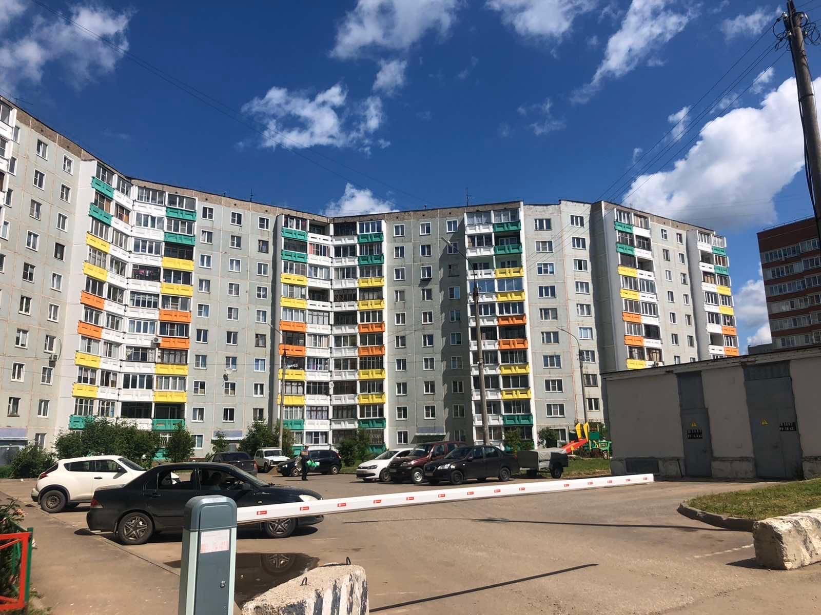 Улица Ульяновская дом 6 капремонт