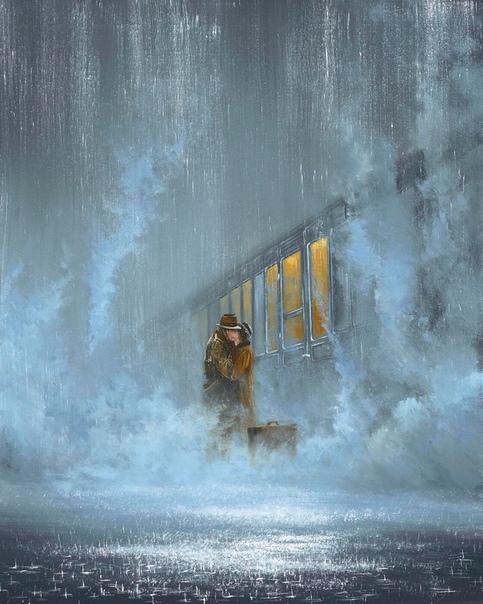 Секунды прощания Джеффа Роланда Цикл романтических картин британского художника. В каждой есть свой скрытый смысл, история и вдохновение. Все произведения пропитаны романтикой, чувствами между