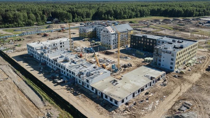 Отчет о ходе строительства квартала «Среда» июнь 2020, изображение №25