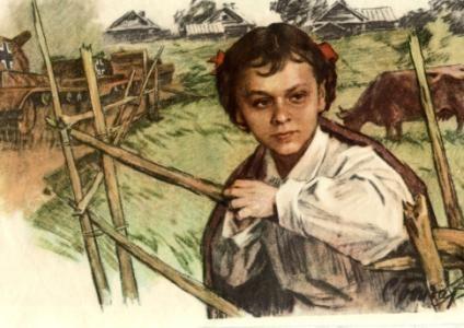 «Маленькие герои большой войны». ПОДВИГ ПИОНЕРКИ ГАЛИ КОМЛЕВОЙ, изображение №1