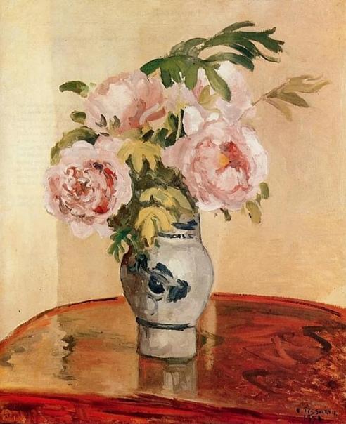 Хороши букеты Камиля Писсарро  не только своей красотой, но и основательностью.