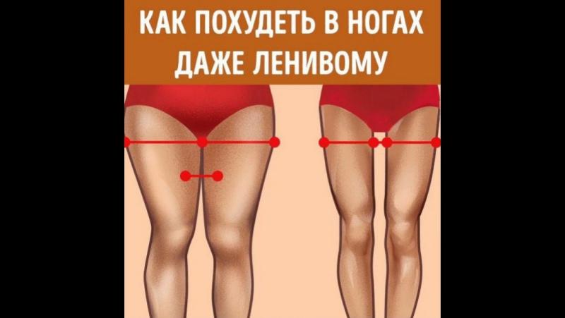 Похудение Ног Быстро. Быстрое и эффективное похудение ног - комплексы упражнений в домашних условиях с видео