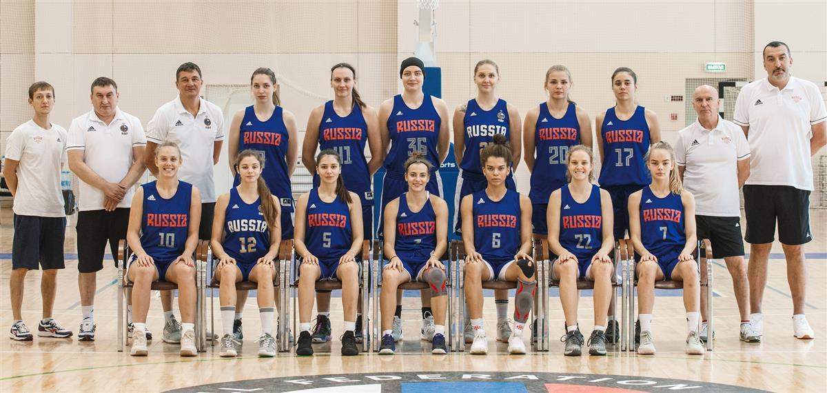 Сборная России U20 отправилась в Чехию
