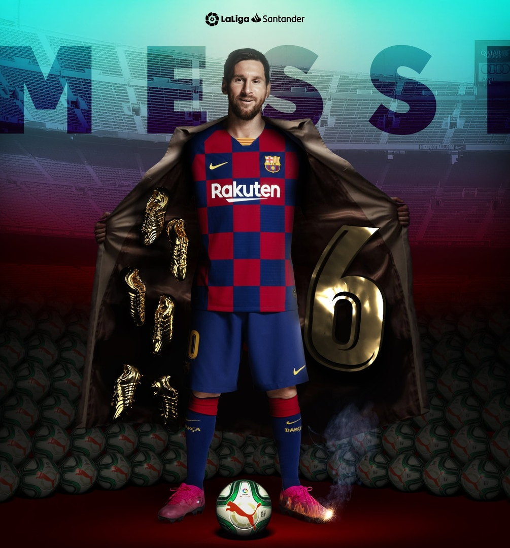 "Leo Messi 6-""Oltin Butsa""ni qabul qilib oldi (Foto)"