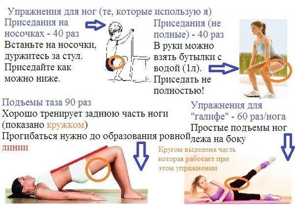 Эффективное похудение для ляшек