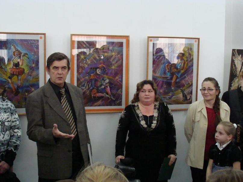 Персональная выставка «Спасибо солнечному свету», 2012 г.