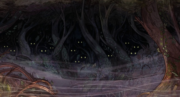«Легенда о волках» / часть 2 Режиссеры: Томм Мур и Росс Стюарт Художники: Томм Мур, Мария Парейя и Росс
