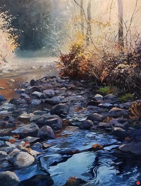 Кристофер Липер - художник из Кэнфилда (Огайо, США