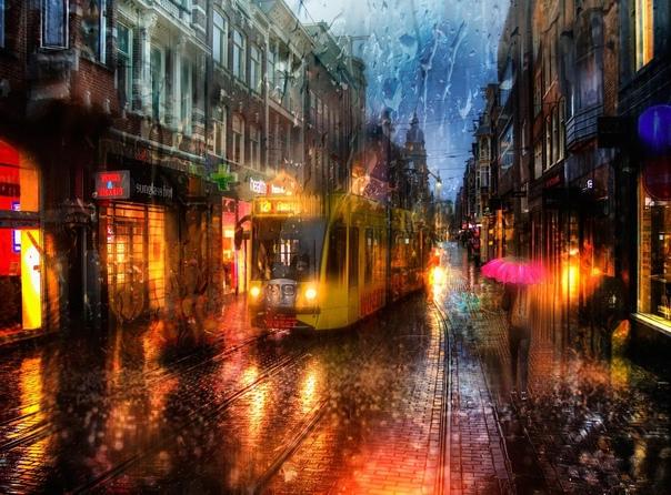 Дождливый Петербург. Фотограф Эдуард Гордеев.
