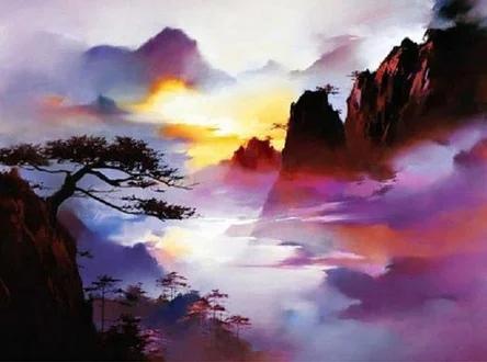 Творчество Хонг Леунг действительно арт терапия.