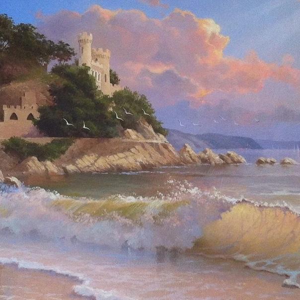 Художник Вячеслав Хабиров родился в 1967 году в Казахстане, в городе Усть-Каменогорск