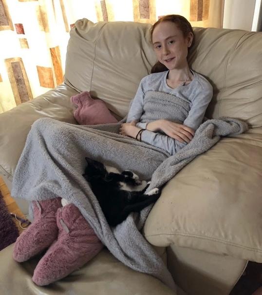 25-килограммовая шотландка с аномально низким весом показала свои фотографии и шокировала пользователей сети своей худобой 18-летняя Элли Споффорт начала активно худеть после того, как ее начали