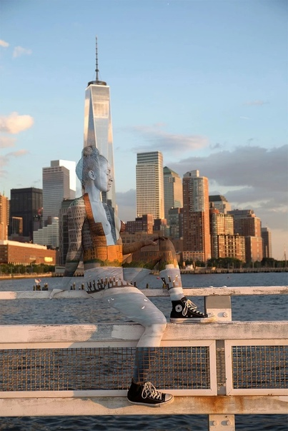 Встречайте нью-йоркскую художницу Трину Мерри, которая за долгие годы работы над своим творчеством успела хорошо зарекомендовать себя в области современного изобразительного искусства