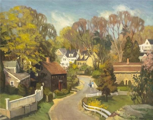 Кеннет Ноулз - американский художник, родившийся в 1968 году в Рокпорте, Массачусетс
