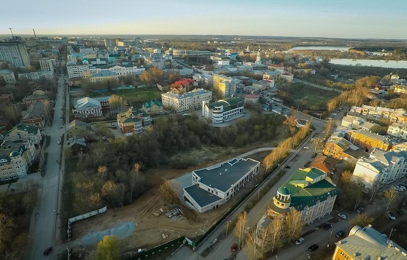 Вид на территорию, где ранее располагался сад Рудобельского. 2016 г.