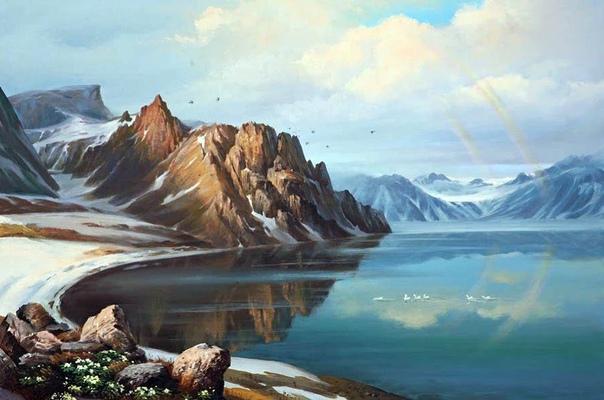Картины корейского художника Кан Юнг Хо «пахнут» осенью, весной и разнотравьем В них хочется утонуть, растворившись без оглядки.Является не только талантливым художником, но также и
