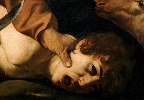 «Принесение в жертву Исаака», Микеланджело Меризи да Караваджо