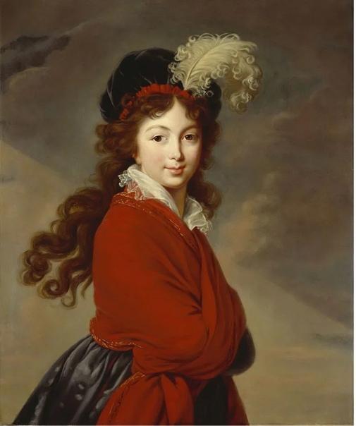 Французская художница Элизабет Виже Лебрен несколько лет прожила в России, написав около 60 портретов русской знати К художнице выстраивалась целая очередь из аристократок, которые хотели иметь
