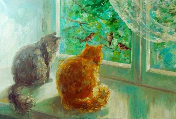 Молодая художница Герасимова Наталья Александровна